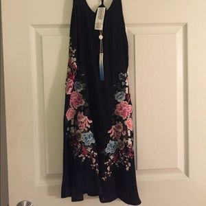 Lucky Brand Embroidered Dress size XS